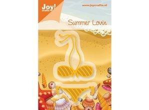 Joy!Crafts und JM Creation 28165, Alegría Artesanía, plantilla bikini 39x48mm - 42x17mm