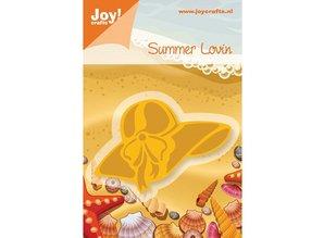 Joy!Crafts und JM Creation Joy Crafts, skabelon strand hat, 72x46, 5mm