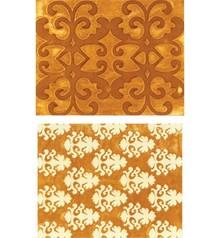 Sizzix Embossing folders, Luxurious, 2 Folder.