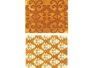 Sizzix Carpetas de grabación en relieve, de lujo, Carpeta 2.