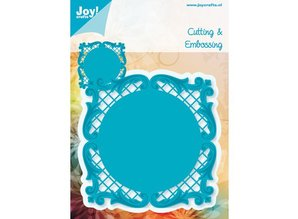 Joy!Crafts und JM Creation Joy! Crafts stamping and embossing stencil template A square 11 cm x 11 cm