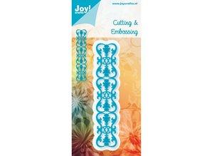Joy!Crafts und JM Creation Border franse lelie, Schneiden en Prägen