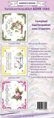 KARTEN und Zubehör / Cards Variation julekort sæt.