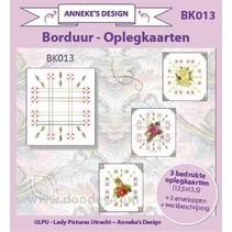 3 diseño de la tarjeta impresa, 3 sobres