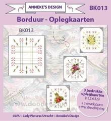 KARTEN und Zubehör / Cards 3 trykte kort layout, 3 konvolutter