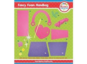 Kinder Bastelsets / Kids Craft Kits Craft Kit: sacchetto del cuore per i bambini.