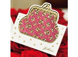 Sticker Noticias pegatinas Fashion - Moda, 20x23cm, en oro.