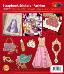 Sticker Scrapbook stickers Fashion - Mode