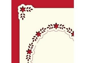 KARTEN und Zubehör / Cards Strato di carta di lusso A6 classici 3, 10,5 x 14,85 centimetri