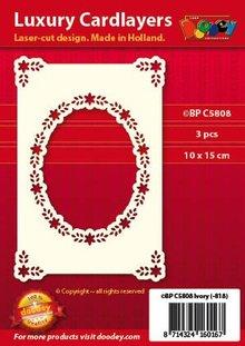 KARTEN und Zubehör / Cards Strato di carta di lusso A6 classico 3
