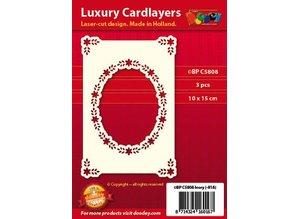 KARTEN und Zubehör / Cards Luksus kortlaget A6 klassiske 3, 10,5 x 14,85 cm