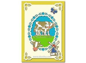 KARTEN und Zubehör / Cards Luxury card layer A6 classic 3, 10.5 x 14.85 cm