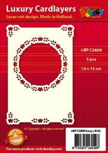 KARTEN und Zubehör / Cards Luxury card layer A6 classic 3 - Copy