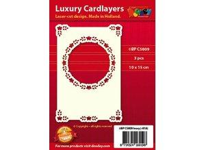 KARTEN und Zubehör / Cards Luxury card layer A6 classic 3, 10.5 x 14.85 cm - Copy