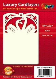 KARTEN und Zubehör / Cards Luksus 3 card layout A6