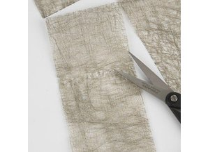 DESIGNER BLÖCKE  / DESIGNER PAPER 1 hoja de papel de fibra, 21x30 cm, oro, 31g