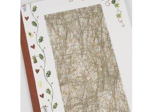 DESIGNER BLÖCKE  / DESIGNER PAPER 1 sheet of fiber paper, 21x30 cm, gold, 31g
