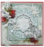 Marianne Design Estampación y embutición de la plantilla, los corazones de MINÚSCULOS