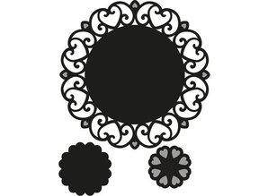 Marianne Design Stempling og prægning stencil, TINY hjerter