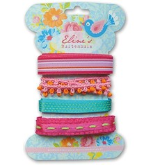 DEKOBAND / RIBBONS / RUBANS ... Marianne Design, Eline's ribbons color, 4x1,9mtr