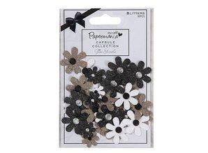 Embellishments / Verzierungen Capsule Blitters (50pcs) - Bexley Black