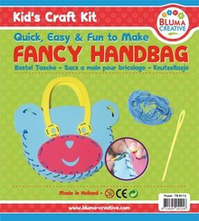 Kinder Bastelsets / Kids Craft Kits Bjørn Craft Kit Bag for Kids - Skumgummi