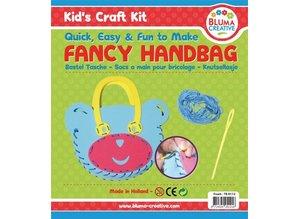 Kinder Bastelsets / Kids Craft Kits Craft kit for kids, bear pocket 20 x 23cm, TOTALLY SWEET !!