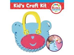 Kinder Bastelsets / Kids Craft Kits Craft kit til børn, bjørn lomme 20 x 23 cm, helt SWEET !!