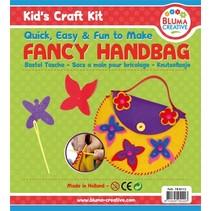 Bastelset Schmetterlinge Tasche für Kinder - Moosgummi