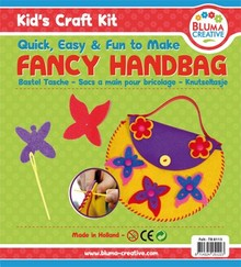 Kinder Bastelsets / Kids Craft Kits Sommerfugle Craft Kit taske for Kids - Skumgummi