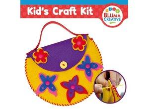 Kinder Bastelsets / Kids Craft Kits Craft kit for kids, bear bag 20 x 23cm, TOTAL SWEET !!