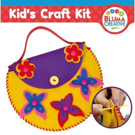 Kinder Bastelsets / Kids Craft Kits Craft kit til børn, bjørn taske 20 x 23cm, ALT SWEET !!
