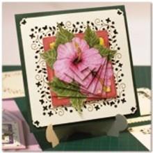 KARTEN und Zubehör / Cards Bastelbuch for design af 6 meget smukke blomst kort.