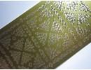 Sticker Adesivi, Piccoli 2 angoli, oro oro, 10x23cm.