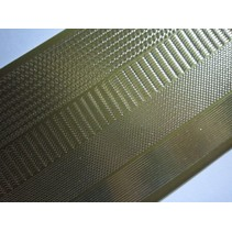 Stickers, marges smal, goud-goud, maat 10x23cm