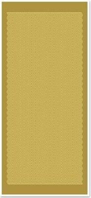 Sticker Ziersticker, linee ondulate, oro oro, formato 10x23cm.