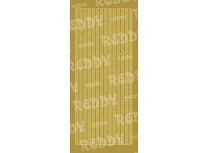 Sticker Dekorative mærkat, 10x23cm