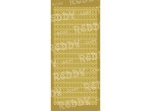 Sticker Adesivo decorativo 10x23cm