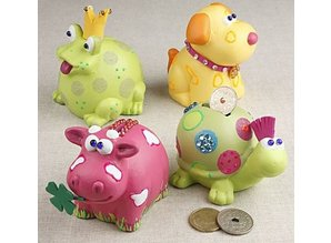 Kinder Bastelsets / Kids Craft Kits til maling, udsmykning og mere.