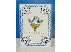 Sticker Decorative sticker set, gold