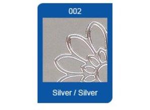 Sticker Ziersticker, sølv