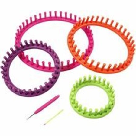 BASTELZUBEHÖR / CRAFT ACCESSORIES Knitting ring set