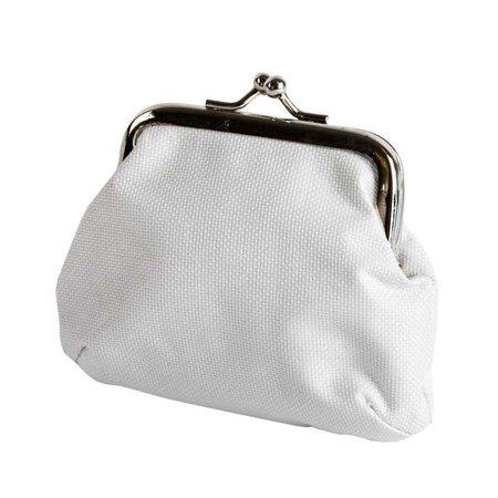 Objekten zum Dekorieren / objects for decorating Grueso tejido de polietileno, blanco - con cierre