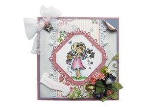 Marianne Design Marianne Design, firkantet & Flower - Stitch Motif