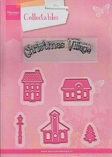 Marianne Design Marianne Design, mini villaggio di Natale, COL1329