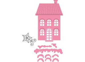 Marianne Design Marianne Design, mini Christmas village no.2, COL1326