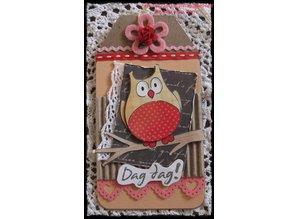 DESIGNER BLÖCKE  / DESIGNER PAPER Eline summer's owls 2