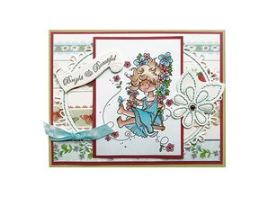 Marianne Design Marianne Design, frimærker, Snoesje - Swing.
