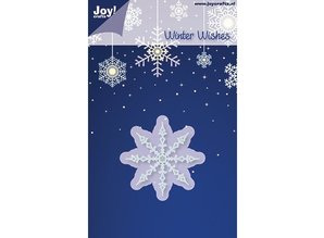 Joy!Crafts und JM Creation Joy Crafts, Ice Crystal No. 1, Durschnitt 50mm, cutting and embossing stencils - Copy
