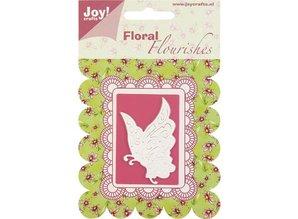 Joy!Crafts und JM Creation Alegría Crafts, corte y embutición mariposa plantilla.